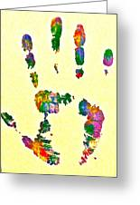 We Are As One Humanity Greeting Card by Gloria Warren