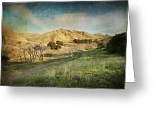 We'll Walk These Hills Together Greeting Card by Laurie Search