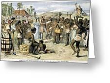 West Indies: Slavery, 1833 Greeting Card by Granger