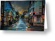 Wet Morning In Kemp Town Greeting Card by Chris Lord