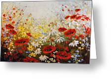 What A Wonderful Day Greeting Card by Irena Sherstyuk