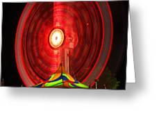 Wheel In The Sky Greeting Card by Gordon Dean II