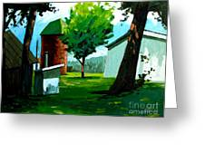 When Pat Loved Larry Greeting Card by Charlie Spear
