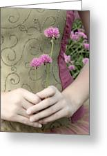 Where Have All The Flowers Gone Greeting Card by Angelina Vick
