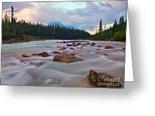 Whirlpool River Greeting Card by James Steinberg and Photo Researchers