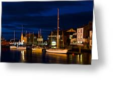 Whitby Greeting Card by Svetlana Sewell