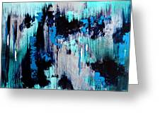 White Noise Greeting Card by Eric Chapman