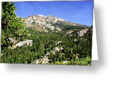 White Rock Mountain Greeting Card by The Kepharts