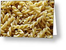 Wholemeal Pasta Greeting Card by Frank Tschakert