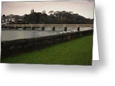 Wicklow Footbridge Greeting Card by Tim Nyberg