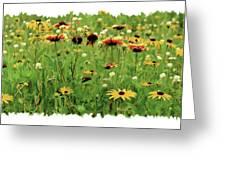 Wildflower Meadow Greeting Card by JQ Licensing