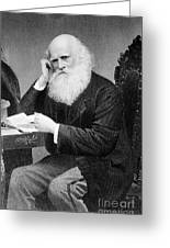 William Cullen Bryant, American Poet Greeting Card by Photo Researchers