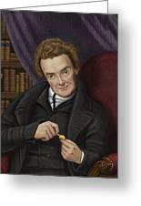 William Wilberforce, British Abolitionist Greeting Card by Maria Platt-evans