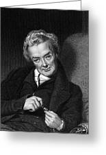 William Wilberforce, British Politician Greeting Card by Middle Temple Library