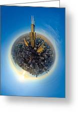 Willis Tower  Greeting Card by Robert Harshman