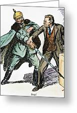 Wilson & The Kaiser: Greeting Card by Granger
