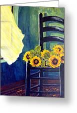 Windfall Greeting Card by Carol Ann Wagner