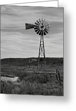 Windmill On The Plains Greeting Card by Jason Drake