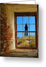 Window To Light  Greeting Card by Christopher  Ward