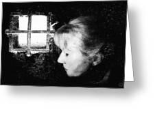 Window to the world Greeting Card by Gun Legler