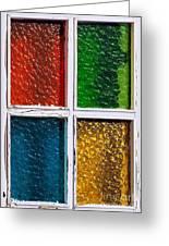 Windows Greeting Card by Carlos Caetano