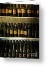 Wine Collection Greeting Card by Jill Battaglia