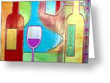 Wine Tasting Greeting Card by Char Swift