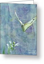 Winging It Greeting Card by Betty LaRue