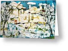 Winter Greeting Card by Nadejda Lilova