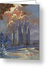 Winter Solace Greeting Card by Jeff Brimley