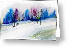 Winter Sorbet Greeting Card by Lynne Furrer