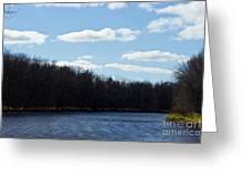 Wisconsin's Peshtigo River Greeting Card by Ms Judi