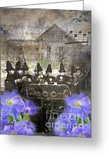 Witch Tea Party Greeting Card by Ruby Cross