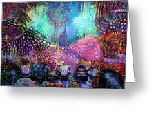Wonderland Greeting Card by Lolita Bronzini