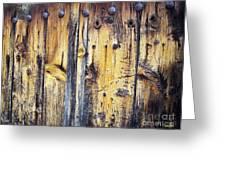 Wood Greeting Card by Eena Bo