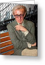 woody Allen Greeting Card by Sophie Vigneault