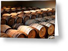 World-class Wine Is Made In California Greeting Card by Christine Till