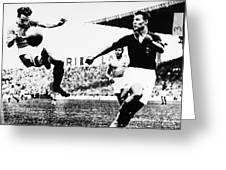 World Cup, 1938 Greeting Card by Granger