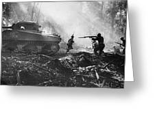 World War II: Bougainville Greeting Card by Granger