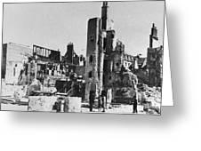 WORLD WAR II: TOURS, 1940 Greeting Card by Granger