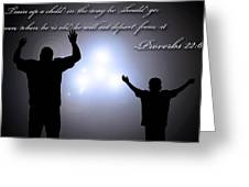 Worship Together Greeting Card by Carl Muller