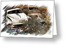 Wreck 3 Greeting Card by Mauro Celotti
