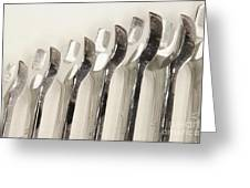 Wrenches Greeting Card by Shannon Fagan