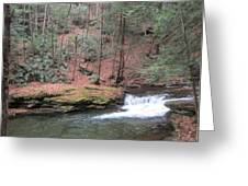 Wykoff Run Greeting Card by Jeffrey Koss
