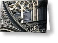 Xanten Cathedral Greeting Card by Arlene Carmel