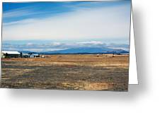 Yakima Valley Greeting Card by Tim Perry