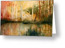 Yellow Medicine Creek 2 Greeting Card by Julie Lueders