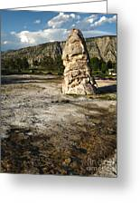 Yellowstone National Park - Mammoth Hot Springs Greeting Card by Gregory Dyer