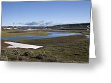 Yellowstone Plateau Greeting Card by Charles Warren