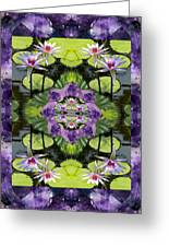 Zen Lilies Greeting Card by Bell And Todd
